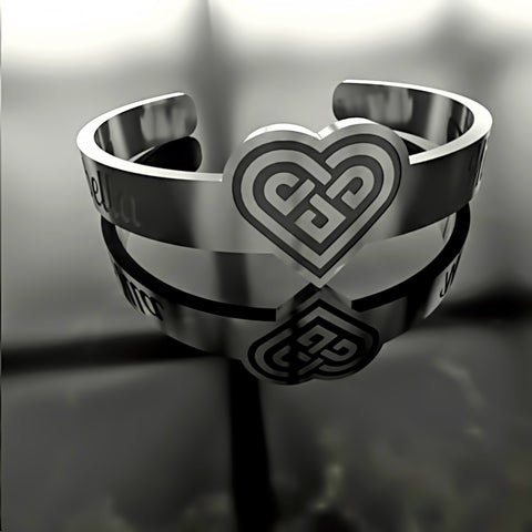 Heart Knot • Custom RING - 07 - Design Forms Of Art