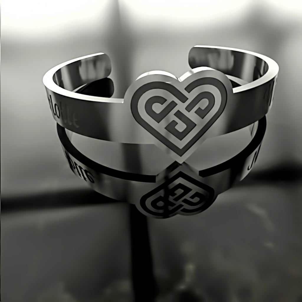Mothers Day • Heart Knot • Custom RING - 06 - Design Forms Of Art