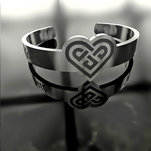 Heart Knot • Custom RING - 06 - Design Forms Of Art
