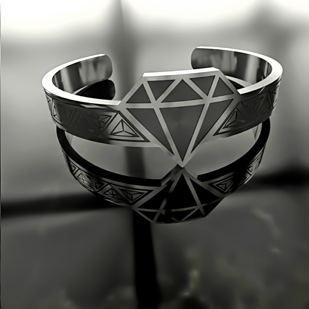 Mothers Day • Diamond • Crystal - Custom RING - 02 - Design Forms Of Art