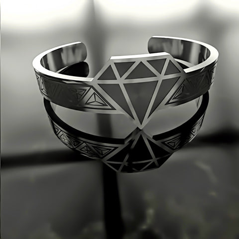Diamond • Crystal - Custom RING - 02 - Design Forms Of Art