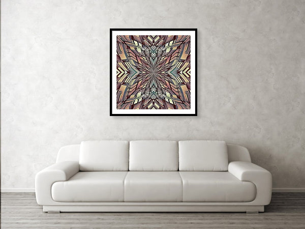 Futuristic Megalopolis City Building  - Framed Print - Design Forms Of Art