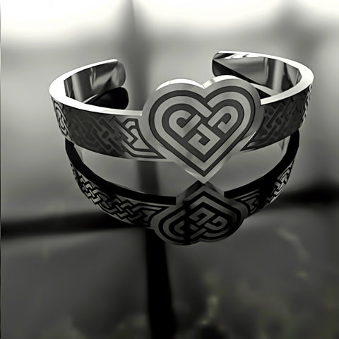 Heart Ornate Knot • Custom RING - 09