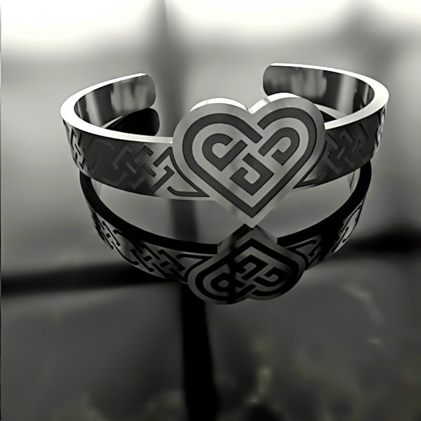Mothers Day • Heart Ornate Knot • Custom RING - 08 - Design Forms Of Art