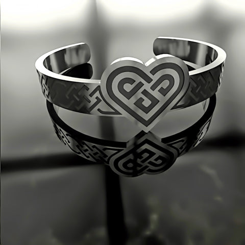 Heart Ornate Knot • Custom RING - 08