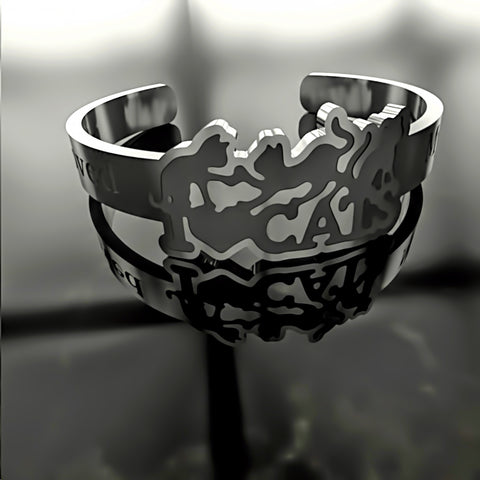 Cat • I Love Cats - Custom RING - 01 - Design Forms Of Art