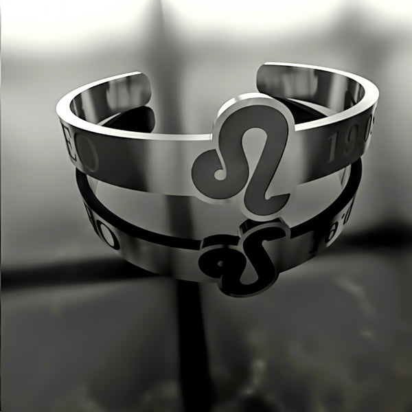 Zodiac - Custom RING - LEO - 02 - Design Forms Of Art