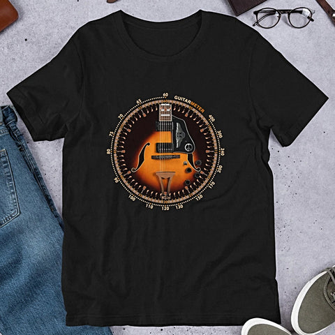 Ibanez Electric Guitar • Short-Sleeve Unisex T-Shirt - Design Forms Of Art