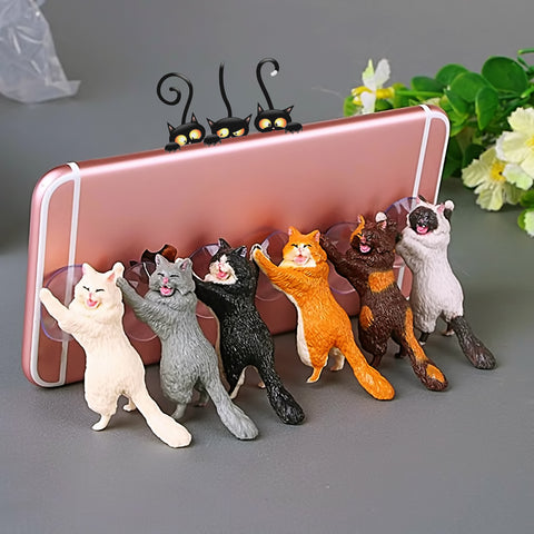 Cute Cat Phone Holder - Design Forms Of Art