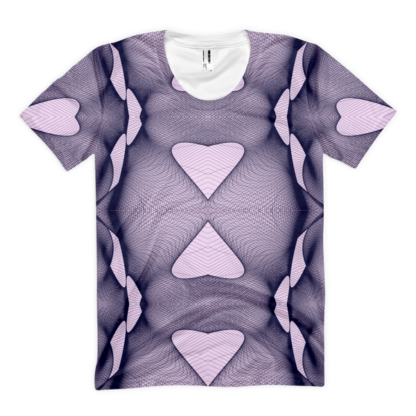 Cyber Heart Armor Women's Classic T-Shirt - Design Forms Of Art