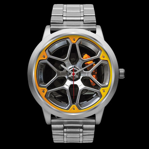 Wheels Of Steel - D • Custom Art Watches • Free Shipping