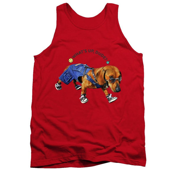 Dog Dude - Tank Top - Design Forms Of Art