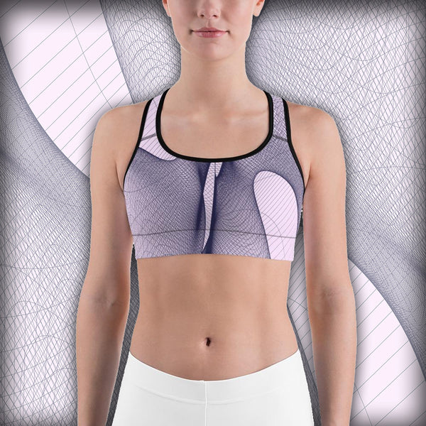Floating Wire - Sports bra - Design Forms Of Art