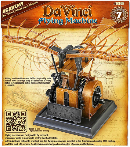 Da Vinci - Flying Machine - Educational Model - Design Forms Of Art