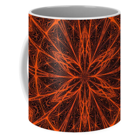 Fractal Fireworks  - Mug - Design Forms Of Art