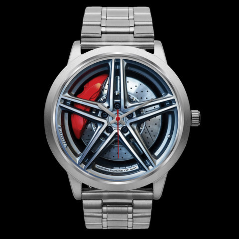 Wheels Of Steel - G • Custom Art Watches • Free Shipping - Design Forms Of Art