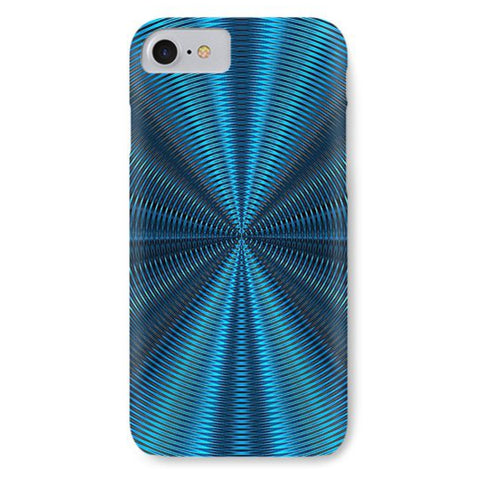 Hypnobluemetallic Swirl - Phone Case - Design Forms Of Art