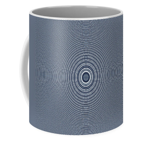 Hypnoblueswirl  - Mug - Design Forms Of Art