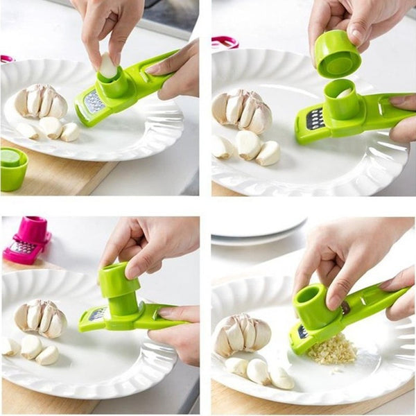 Garlic Press Slicer Cutter • Free Shipping - Design Forms Of Art
