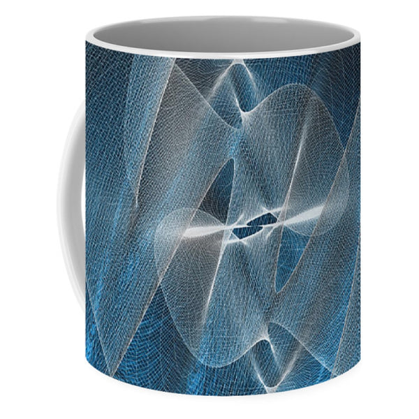Jellyfish Blueallization  - Mug - Design Forms Of Art