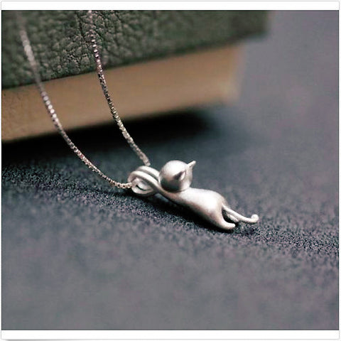 Cute Kitty Necklace - Design Forms Of Art