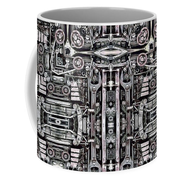Mechanismadness - Mug - Design Forms Of Art