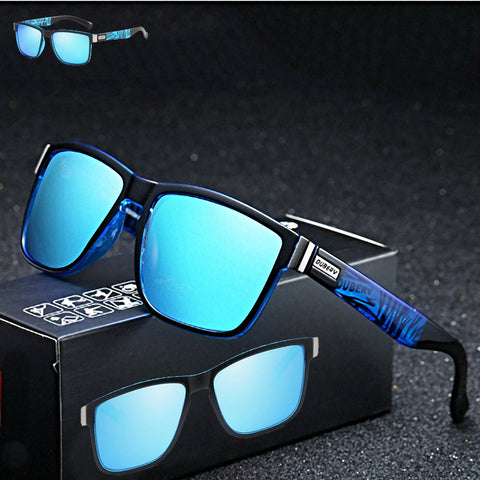 Luxury Retro Men Mirror Sun Glasses - Design Forms Of Art