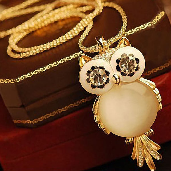 FREE - Owl Crystal Necklace