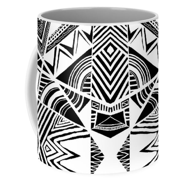 Ornamental Intersection - Mug - Design Forms Of Art