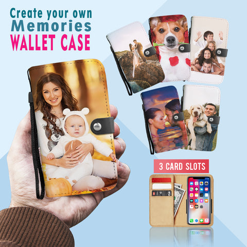 PERSONALIZED Memories • Wallet Phone Case