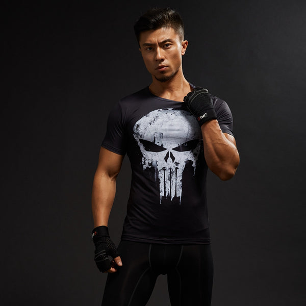 Punisher Compression Shirt • Free Shipping - Design Forms Of Art