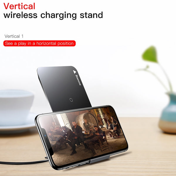 Qi Wireless Charging Pad • Free Shipping