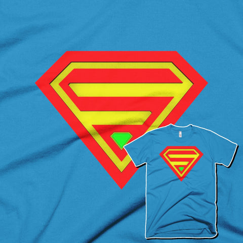 SUPERMAN Short Sleeve Men T-Shirt - Design Forms Of Art