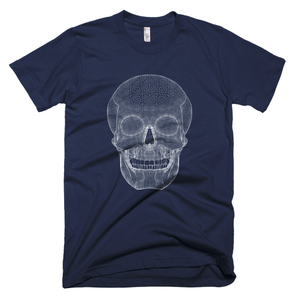 SKULL Short Sleeve Men T-Shirt - Design Forms Of Art