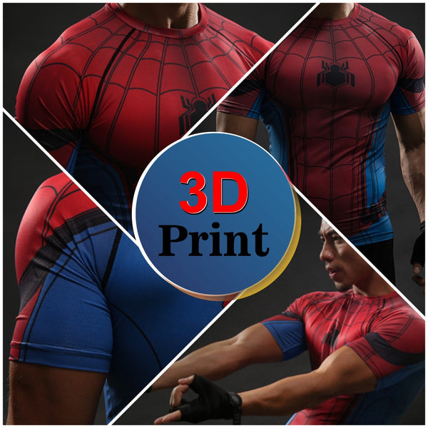 Spider-Man Compression Shirt - Design Forms Of Art