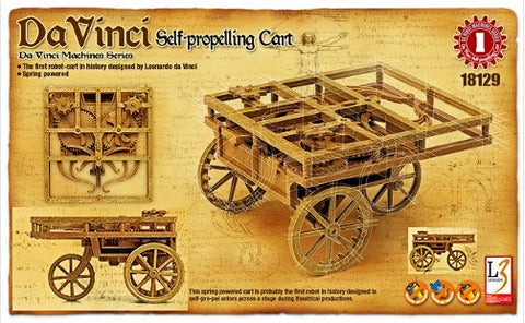 Da Vinci - Self Propelling Cart - Educational Model - Design Forms Of Art