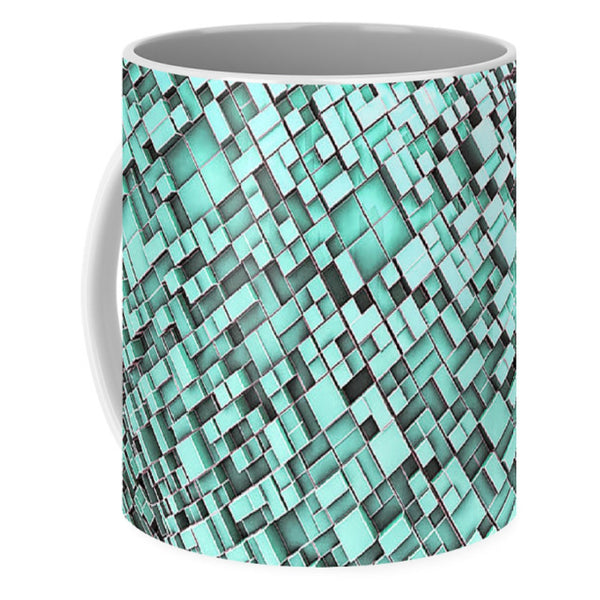 Snake Knot City - Mug - Design Forms Of Art