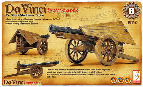 Da Vinci - Spingarde - Educational Model - Design Forms Of Art