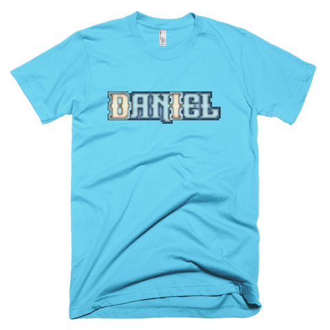DANIEL Short Sleeve Men T-Shirt - Design Forms Of Art