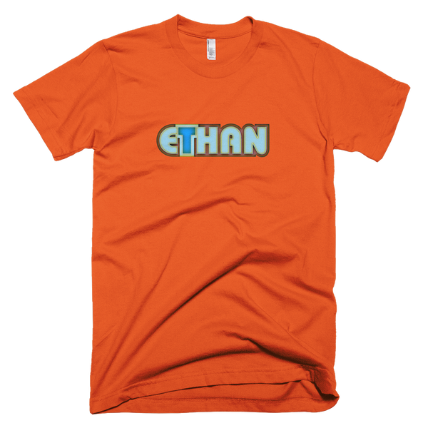 ETHAN Short Sleeve Men T-Shirt - Design Forms Of Art