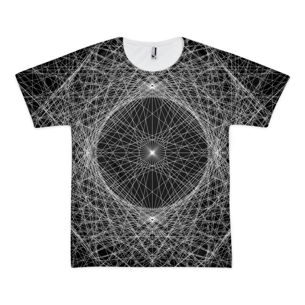 Spider Net - All-Over Printed T-Shirt - Design Forms Of Art
