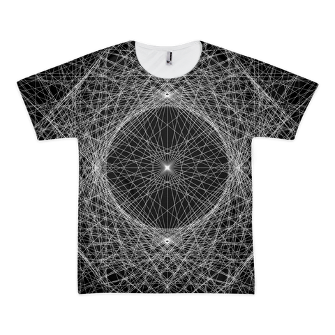 Spider Net Men's Classic T-Shirt - Design Forms Of Art