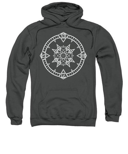 Clock Watch Gothic Tattoo Compass - Sweatshirt - Design Forms Of Art