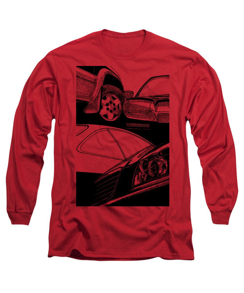 A Bunch Of Cars - Long Sleeve T-Shirt - Design Forms Of Art