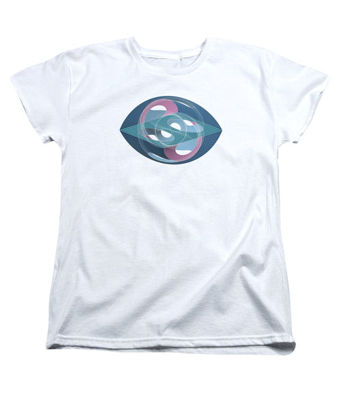 Bionic Eye - Women's T-Shirt (Standard Fit) - Design Forms Of Art
