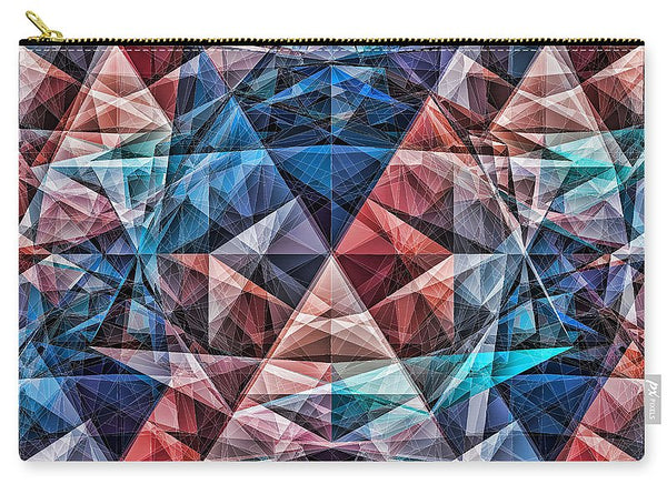 Colorrystallization   - Carry-All Pouch - Design Forms Of Art
