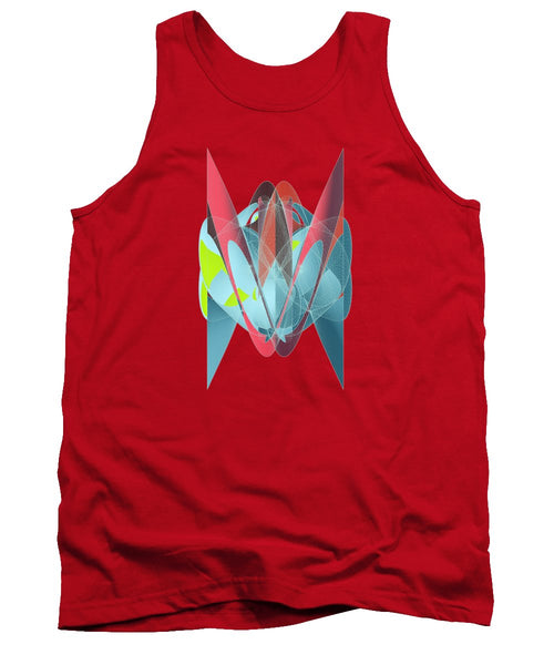 Cat Shapeallization  - Tank Top - Design Forms Of Art