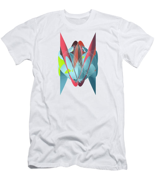 Cat Shapeallization  - Men's T-Shirt (Athletic Fit) - Design Forms Of Art
