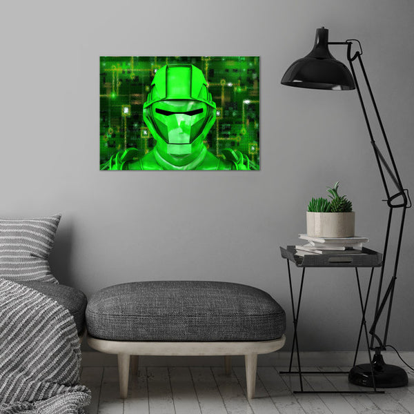 Android Reveals Internal Technology - Art Print - Design Forms Of Art