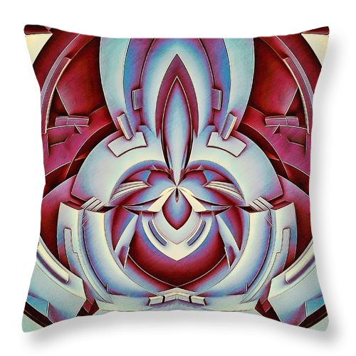 Cherry Seed - Throw Pillow - Design Forms Of Art